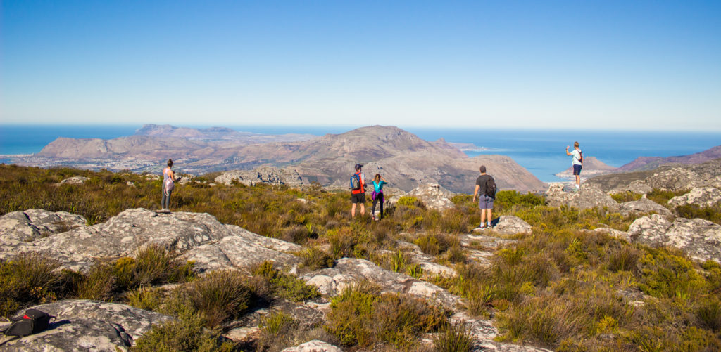 exploring table mountain national park