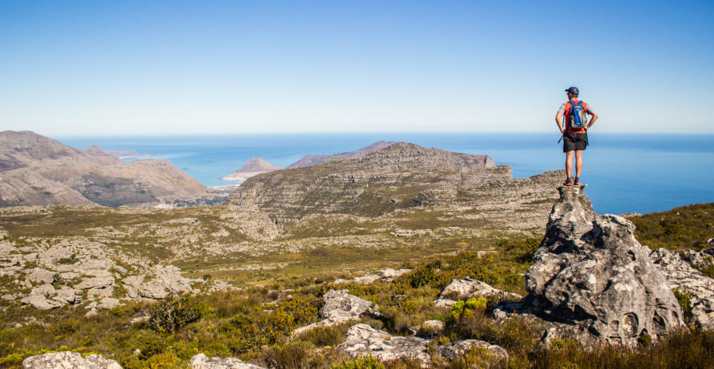 king of the cape table mountain