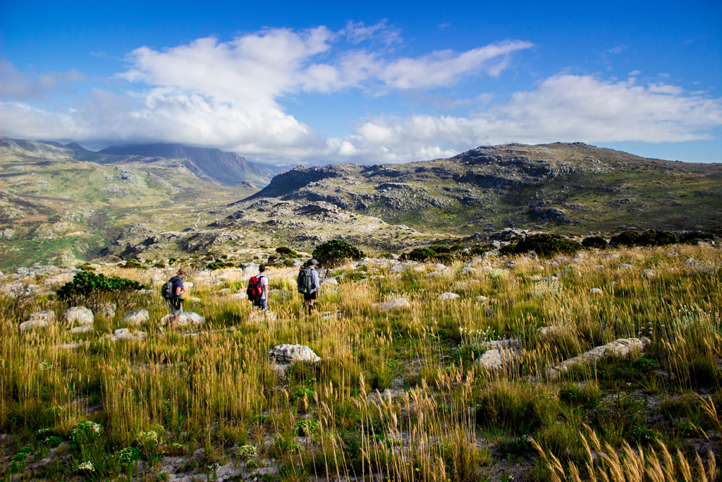 table mountain national park hike
