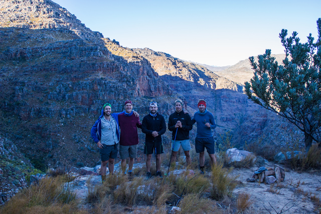 conquer the cape boys hike cederberg