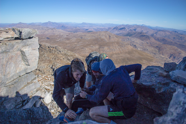 conquer the cape hand up hiking cederberg