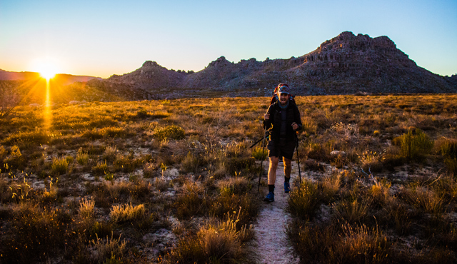 conquer the cape sunrise cederberg