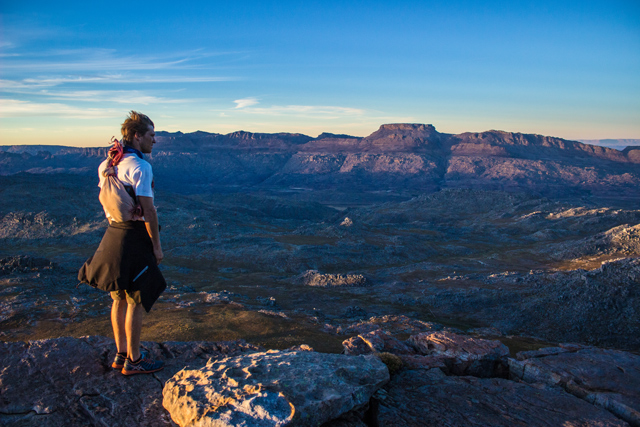 conquer the cape view of tafelberg cederberg